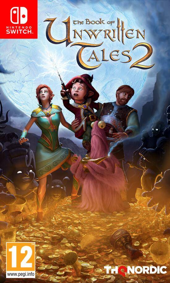 THQ Nordic The Book of Unwritten Tales 2