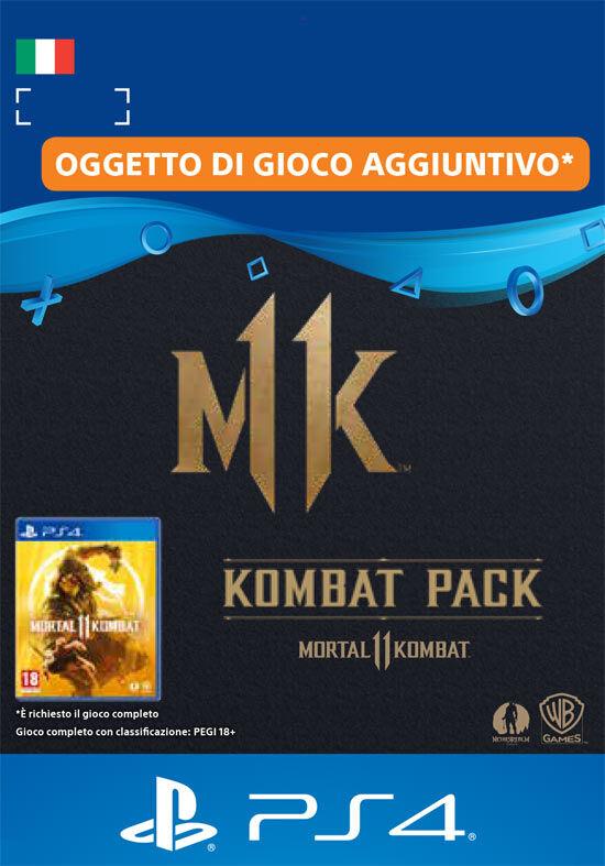 PS4 Mortal Kombat 11 Kombat Pack