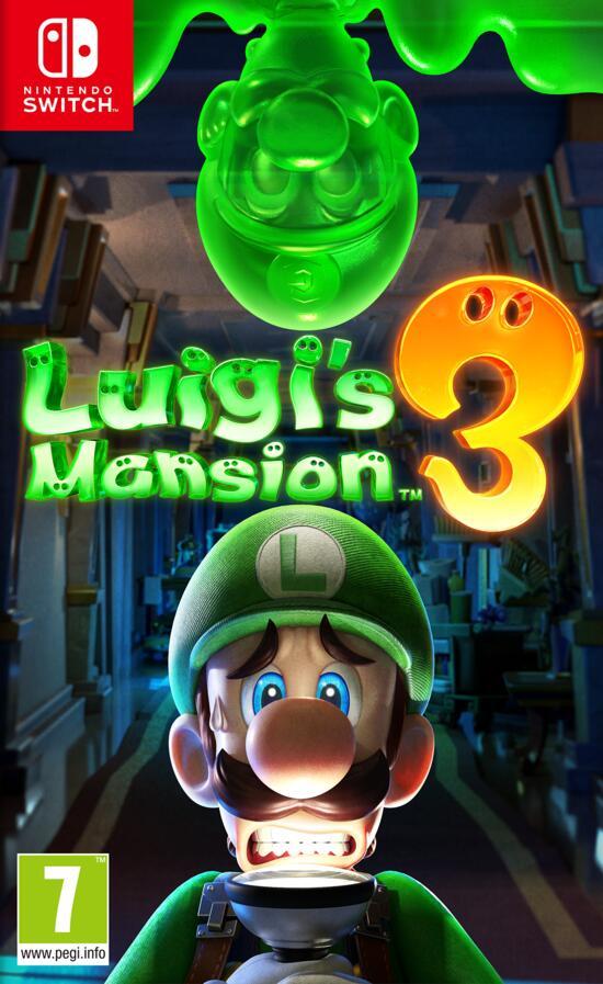 Nintendo Luigi's Mansion 3