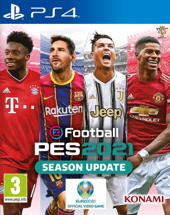 Konami eFootball PES 2021 SEASON UPDATE