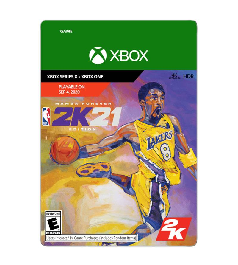 2K NBA 21 Mamba Forever Edition