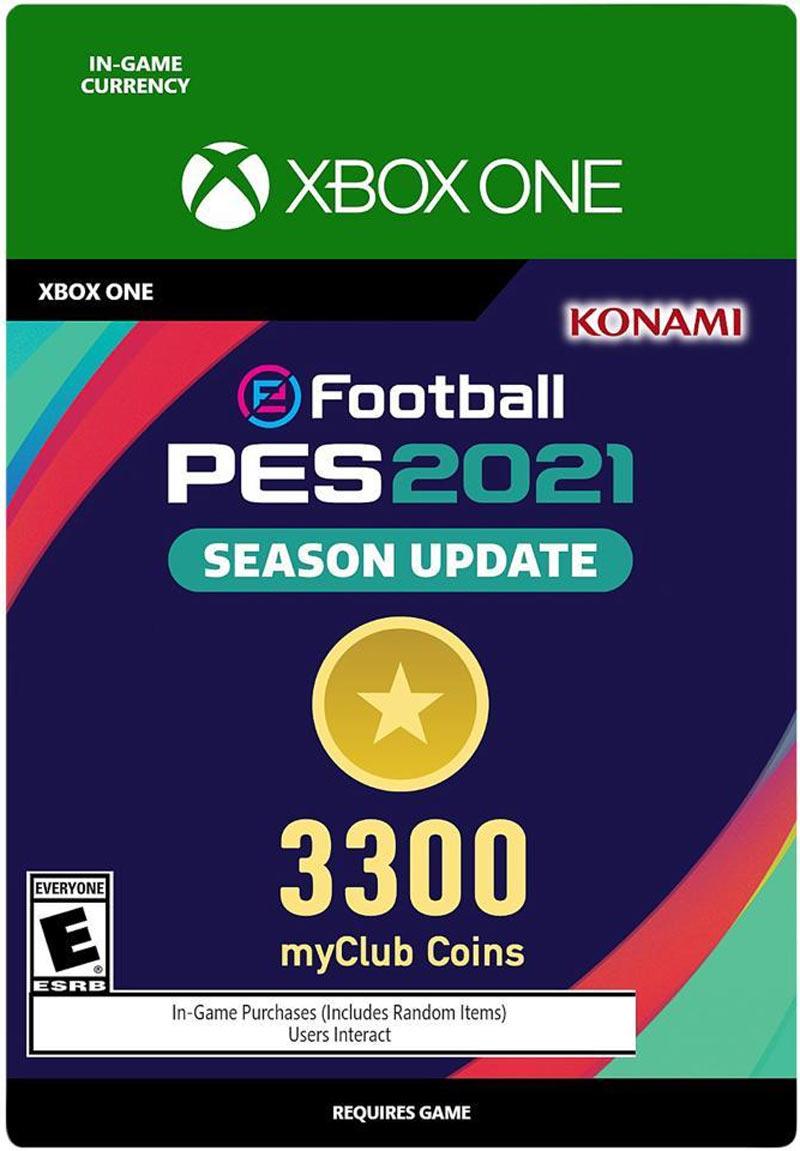 Konami PES 2021 3300 MyClub Coins