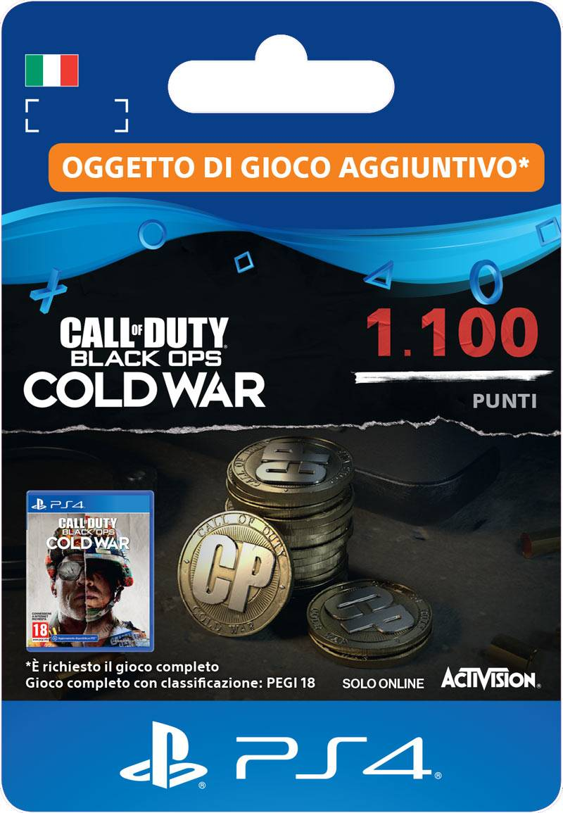 Activision Call of Duty®: Black Ops Cold War 1100 Punti