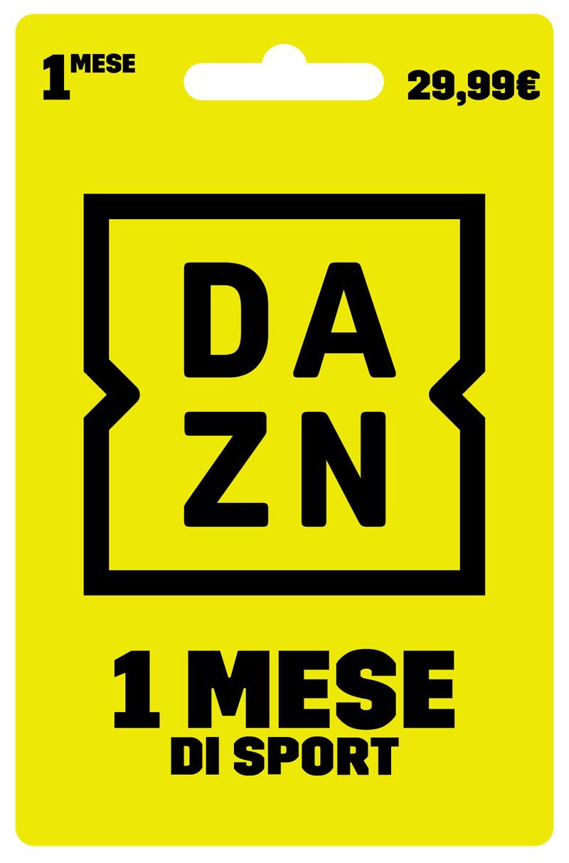Digital Carta prepagata DAZN 1 Mese