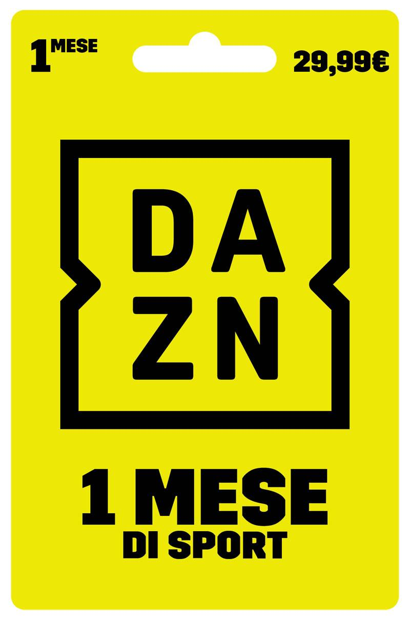 Digital Carta prepagata DAZN 1 Mese a 29.99€