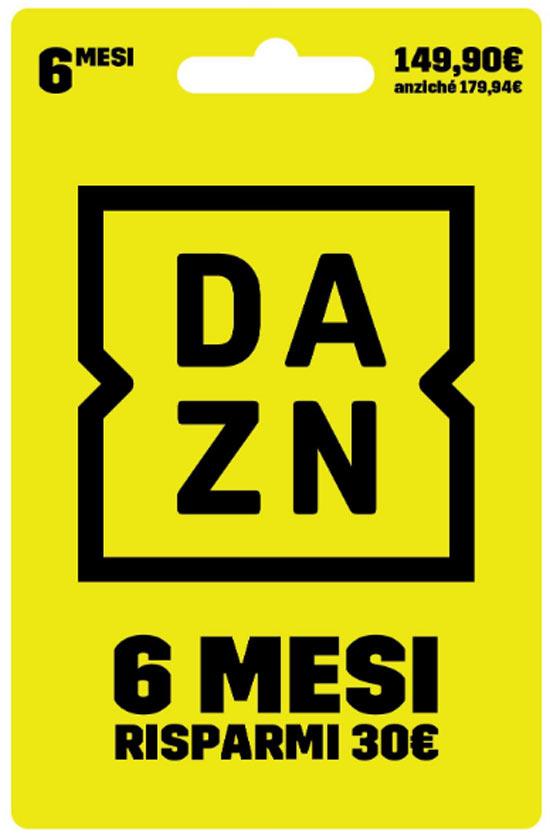 Digital Carta prepagata DAZN 6 Mesi a 149.90€
