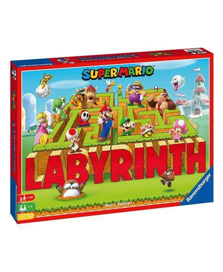 gadget labirinto super mario (gioco da tavolo)