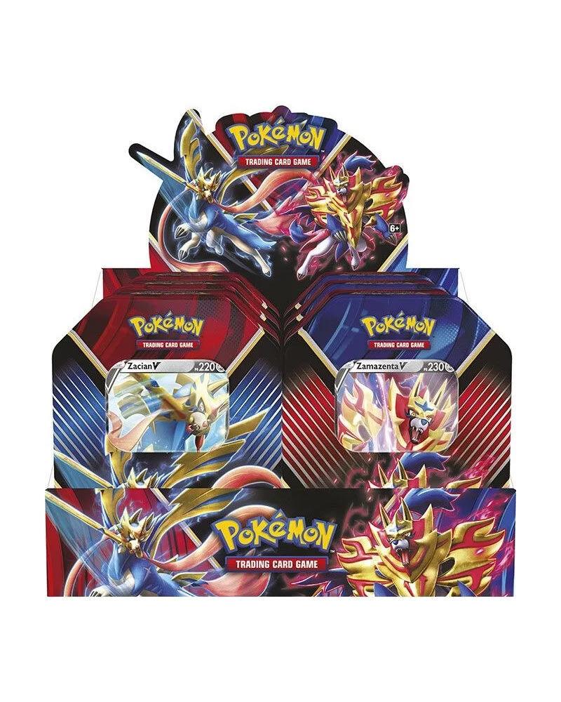 game vision carte pokémon tin da collezione: leggende di galar (assortito)