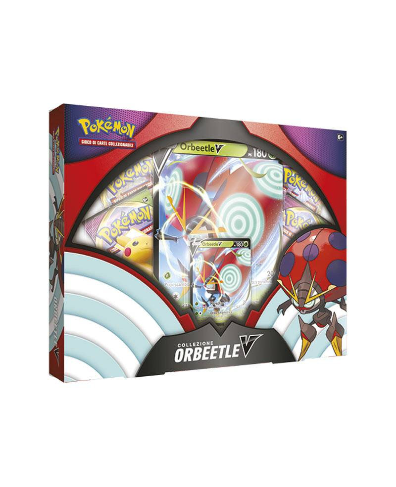 game vision carte pokémon collezione orbeetle v