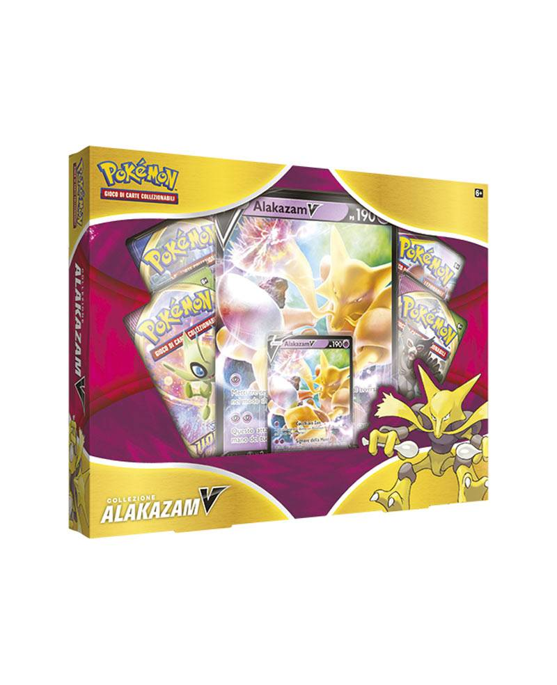 game vision carte pokémon collezione alakazam-v