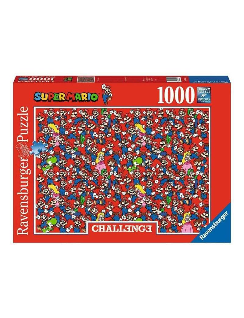 gadget puzzle ravensburger super mario challenge (1000 pezzi)