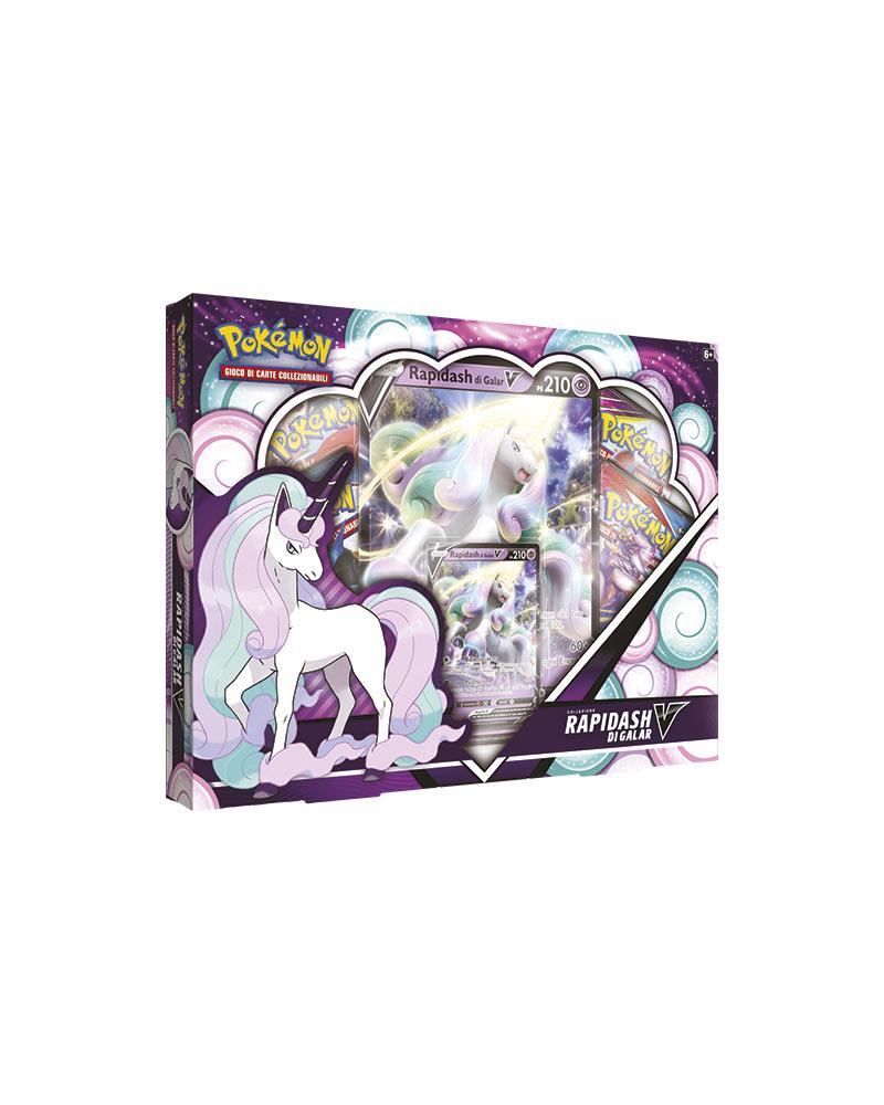 game vision carte pokémon collezione rapidash di galar v