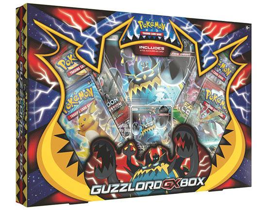 Game Vision Carte Pokémon - Guzzlord GX Box (Versione Inglese)