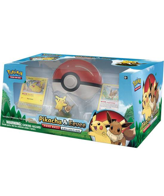Game Vision Carte Pokèmon - Collezione Poke Ball - Pikachu & Eevee