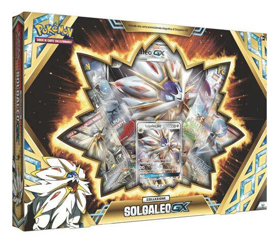 Game Vision Carte Pokèmon - Collezione Solgaleo/Lunala GX