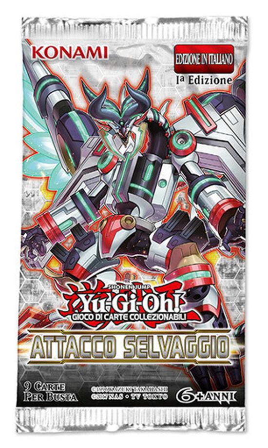 Game Vision Carte Yu-Gi-Oh - Attacco Selvaggio - Bustina