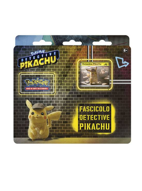 Game Vision Carte Pokèmon - Detective Pikachu - Fascicolo Detective Pikachu