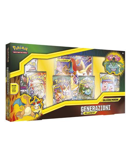 N/A Carte Pokèmon - Collezione Premium Generazione Alleati