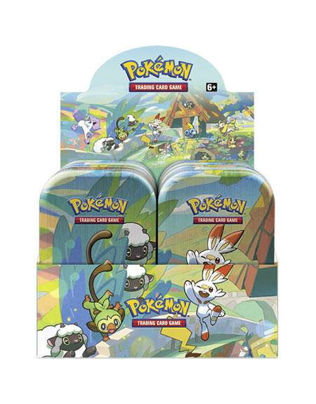 Game Vision Carte Pokémon Mini Tin da collezione Galar Pals 2020