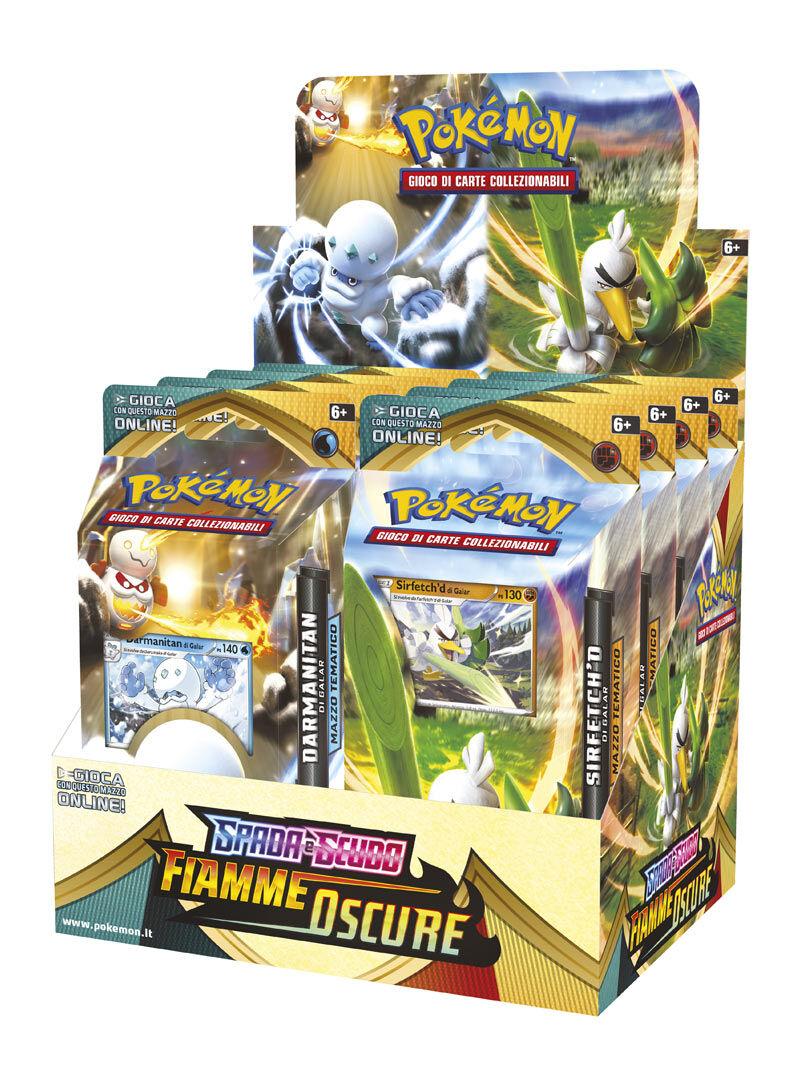 Game Vision Carte Pokémon Spada e Scudo: Fiamme Oscure Mazzo (Assortito)