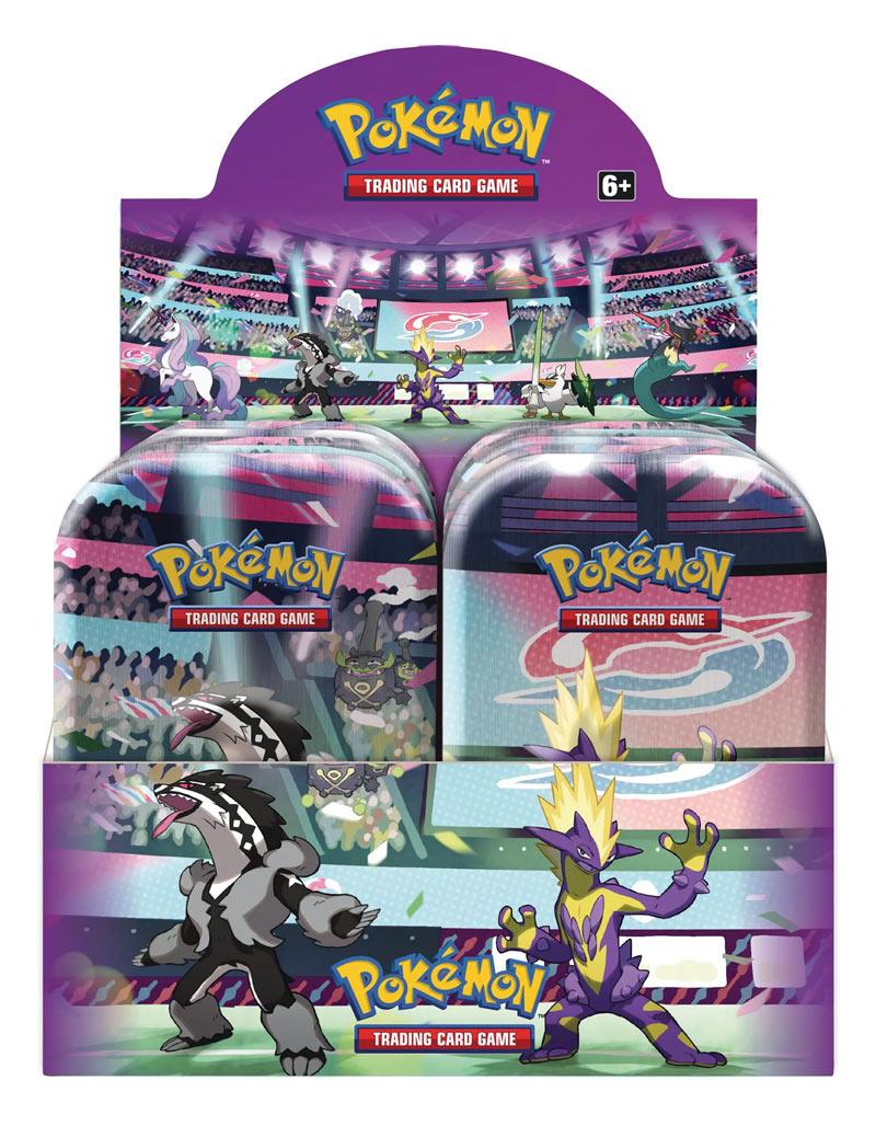 Game Vision Carte Pokémon Mini Tin da collezione Prodigi di Galar 2020