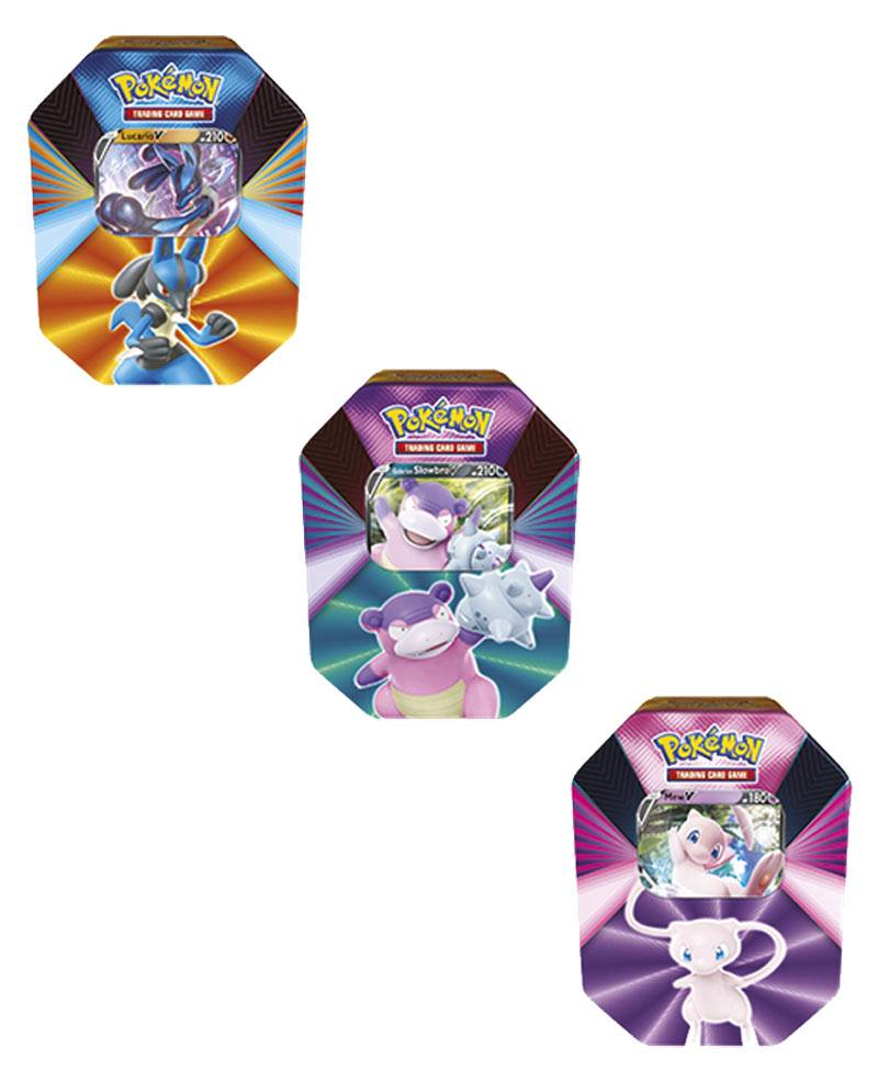 Game Vision Carte Pokémon Tin da Collezione V Forces (Assortito)