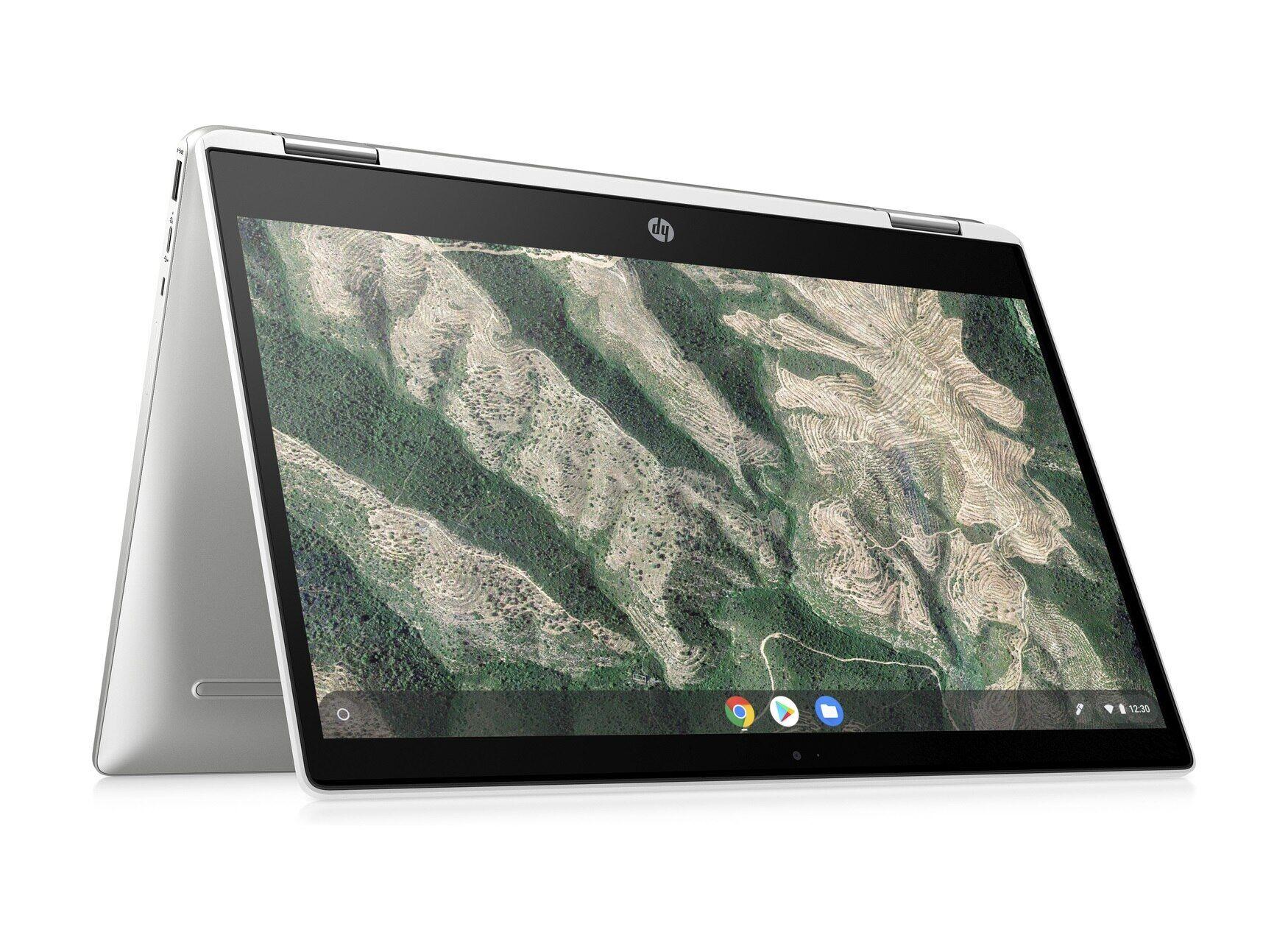 HP Chromebook x360 14b-ca0016nl Notebook Touch con Sistema Operativo Chrome OS™