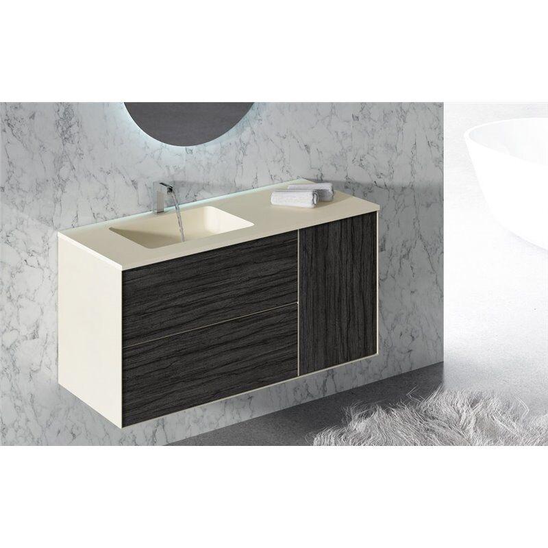Doccia Mobile con lavabo e specchio per il bagno ARKANSAS Group