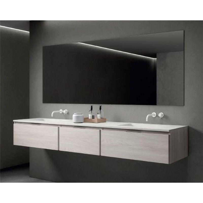 b10 Mobile bagno Life di 151 cm con 3 cassetti con lavabo