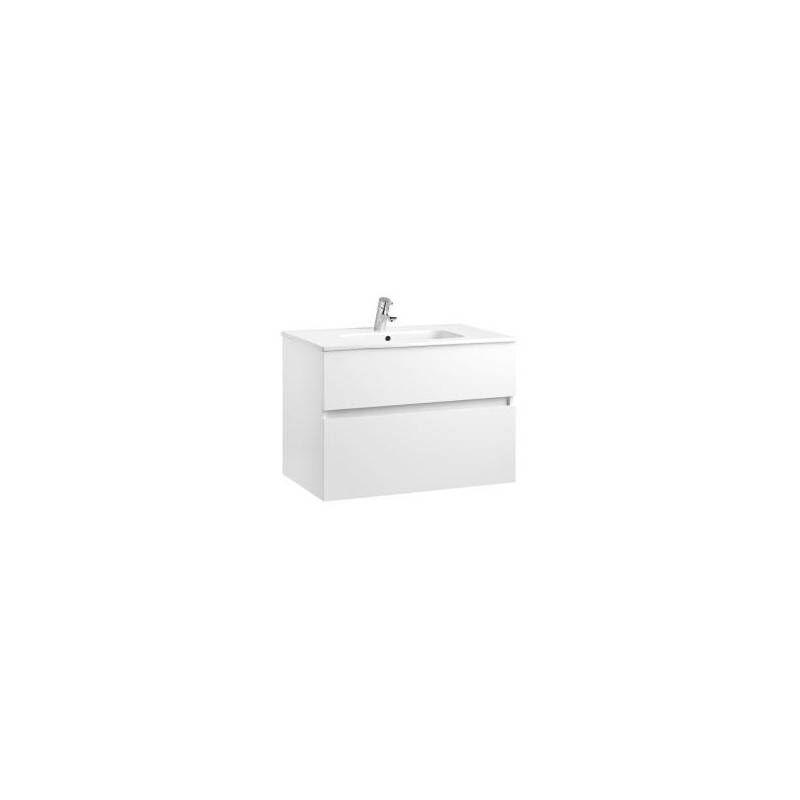 Gala Mobile 2 cassetti con lavabo per il bagno Jade 80cm