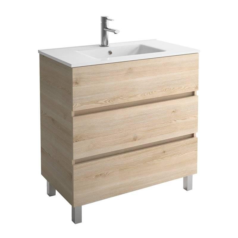 SALGAR Mobile Bagno con lavabo 3 cassetti FUSSION LINE