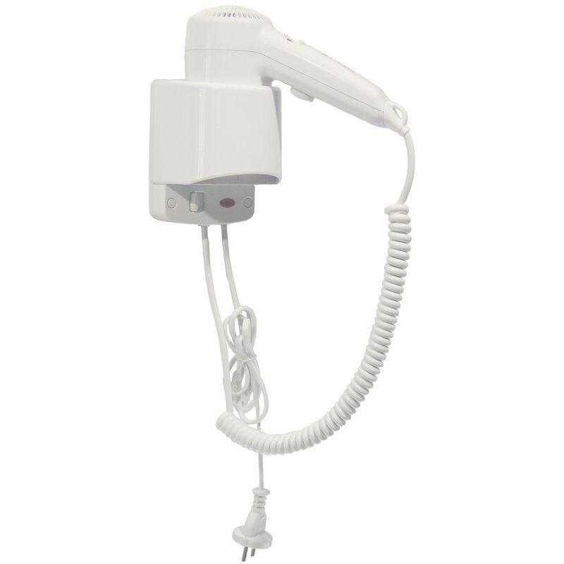 mediclinics asciugacapelli automatico singolo bianco a muro 1240 w