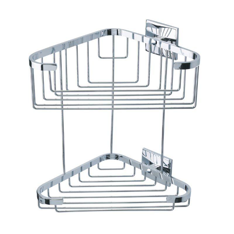 Baño Diseño Cestino per doccia a parete con adesivo Luk