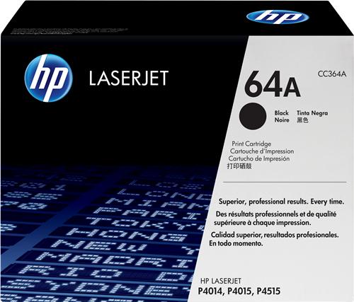 HP CC364A 64A Cartuccia toner stampanti HP LASERJET P4014 P4014N P4014DN P4015DN P4015N P4015TN P4015X P4515N P4515TN P4515X P4515XM
