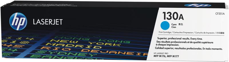 HP CF351A 130A Toner stampanti HP Color LaserJet Pro M176n M177fw