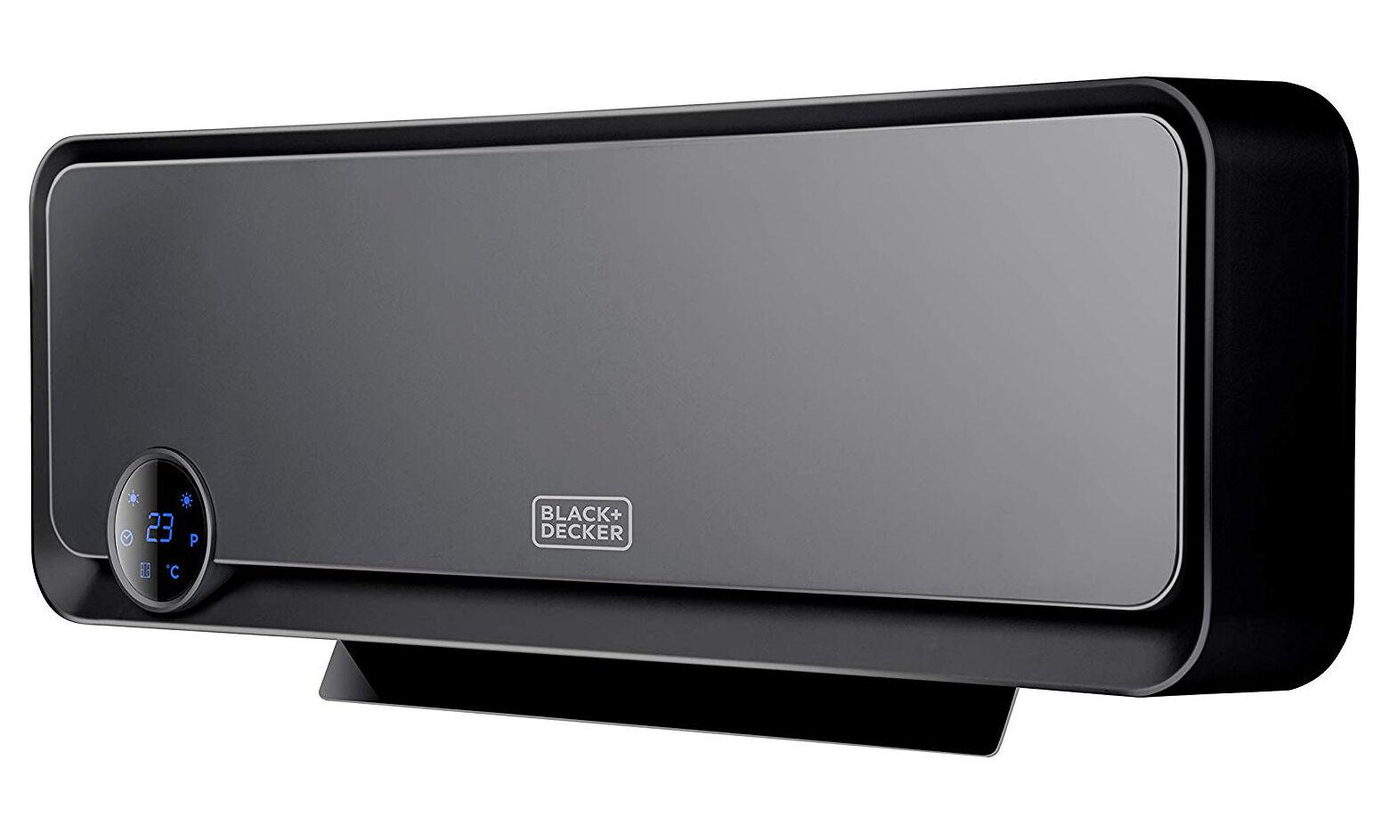 Black & Decker : Termoconvettore ceramico a parete 2000 W con telecomando