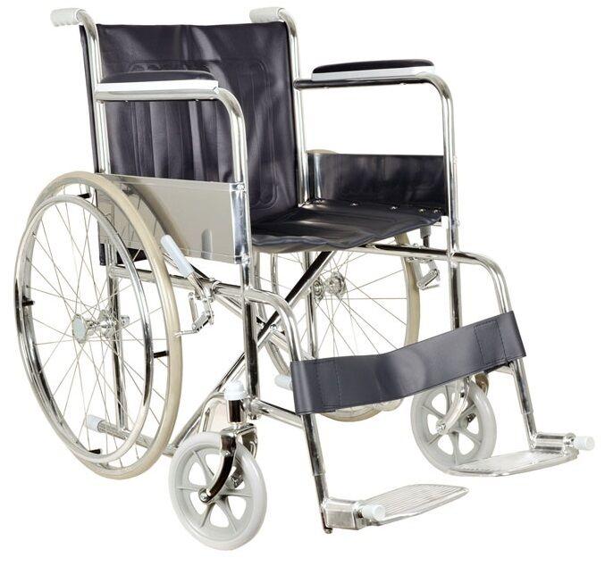 gima sedia a rotelle pieghevole ad