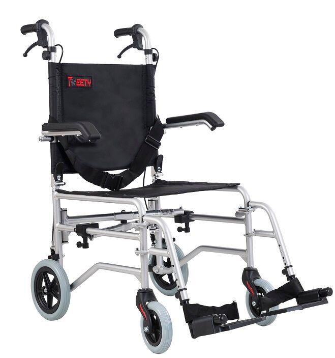 wimed sedia a rotelle da viaggio -