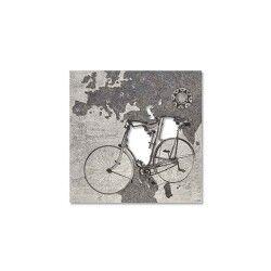 ART L:A:S quadro Tandem decoro nero 48x48cm