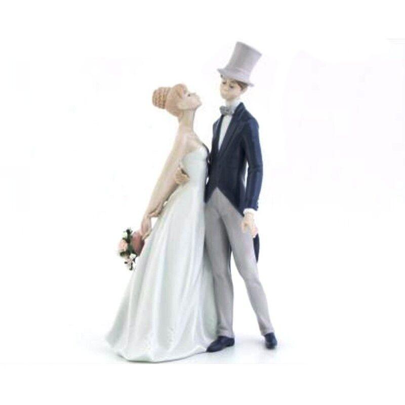 Morena coppia di sposi