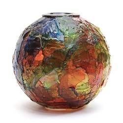 Venini Vaso Geacolor in vetro di Murano