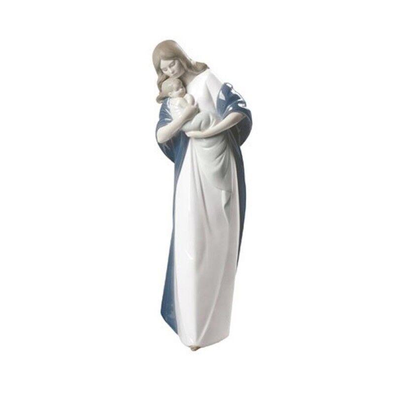 Nao Statua Madonna in porcellana handmade