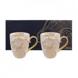 tokyo design set 2 mug nippon gold con dragoni edizione limitata
