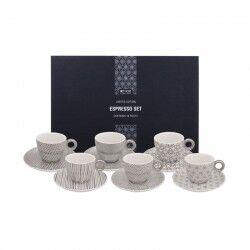 tokyo design set tazzine caffè tonde nippon platinum 18pz edizione limitata