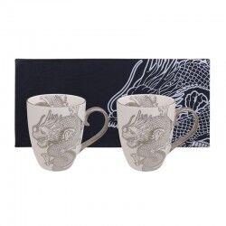 tokyo design set 2 mug nippon platinum con dragoni edizione limitata