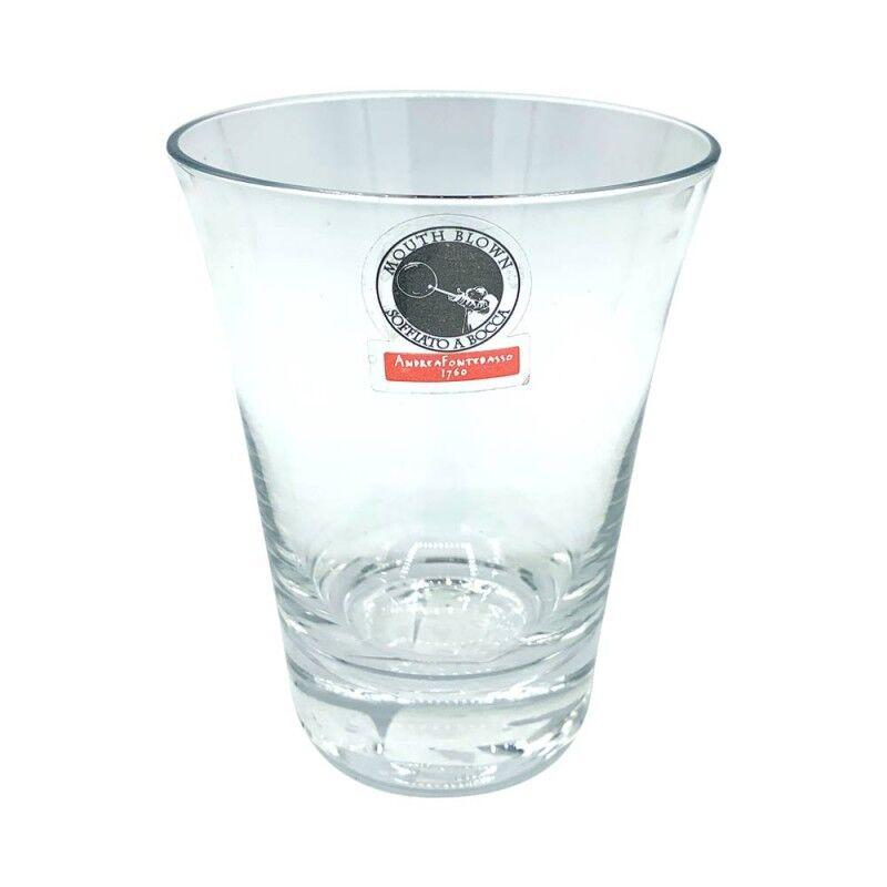 Andrea Fontebasso Set 6 bicchieri acqua Ingrid