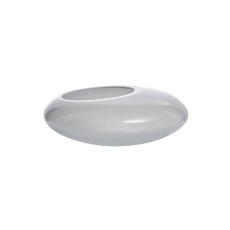 nude centrotavola di design nacre grigio piccolo