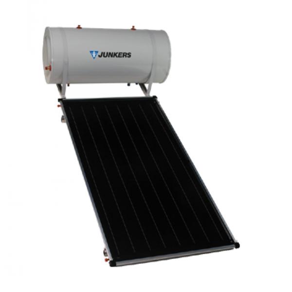 Bosch Junkers Bosch Pannello Solare Termico Litri Lt.150 Circolazione Naturale  Tss + Staffe