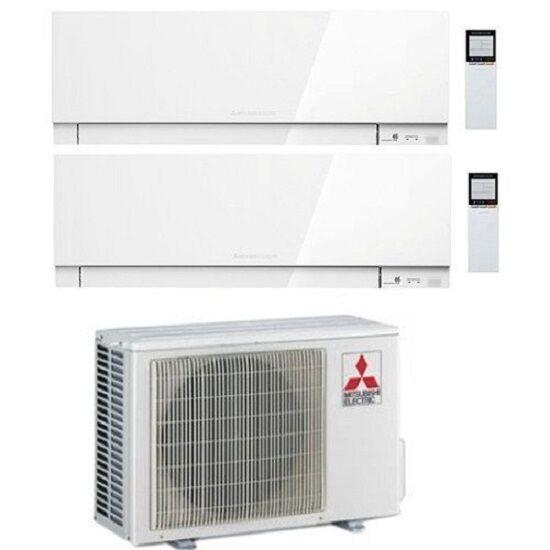Mitsubishi Climatizzatore Dual Split 12000+12000 12+12 Wifi A+++ Kirigamine Zen Mxz-2f53vf R32