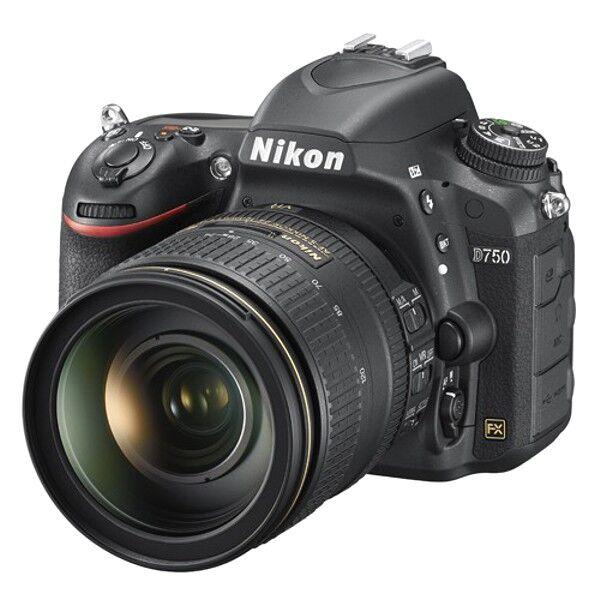 Nikon D750 24-120 F4- G Ed Vr – 4 Anni Garanzia Italia- Menu Italiano-Pronta Consegna